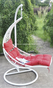 Comfortable Wicker Swing Chair for Garden pictures & photos