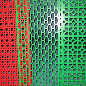 Coloured Powder Coated Perforated Metal pictures & photos