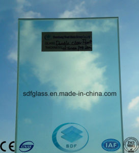 Double Clear Float+F-Green PVB Laminated Glass with CE, ISO pictures & photos