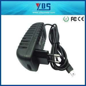 12V 2A EU Wall Plug Adapter pictures & photos
