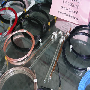 Single Core PTFE Insulation Coaxial Cable pictures & photos