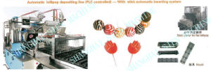 PLC Controlled Lollipop Depositing Production Line With Automatic Stick Inserting System (GD150-600) pictures & photos