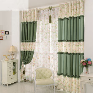 Countryside Style Print Curtain Fashion Curtain (KS-143) pictures & photos