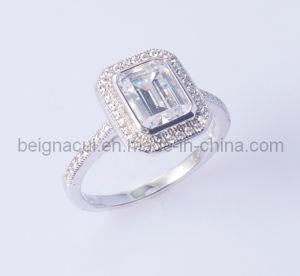 Pure Silver CZ Ring