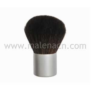Natural Hair Kabuki Brush with Silver Ferrule pictures & photos