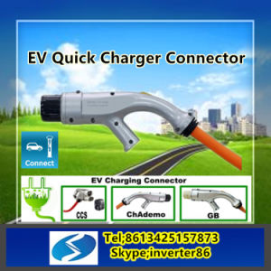 High Speed EV Charging Plug for Public Charging Networks pictures & photos
