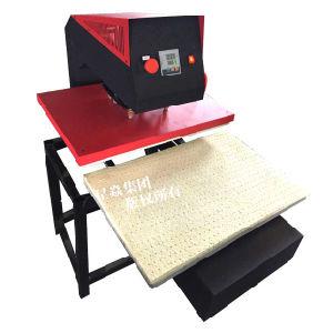 Pneumatic Single Station Textile Heat Press Machine pictures & photos