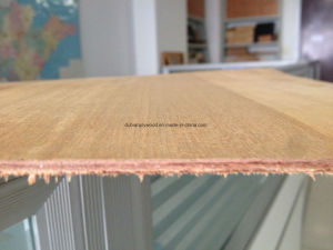 AAA Grade Natural Teak Gurjan Plywood for Middle East pictures & photos