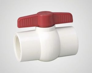 PVC Ball Plastic Valve pictures & photos