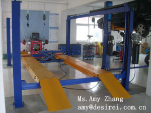 Ce Four Post Hydraulic Alignment Car Lifter/Car Lift pictures & photos