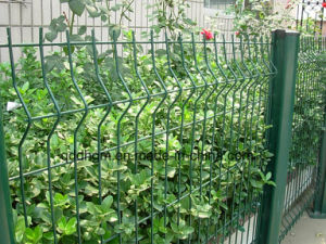 Dehong PVC Powder Coated Galvanized Metal Welded Wire Mesh Fence pictures & photos