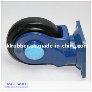 European Style Totally Mute Rubber Caster Wheel pictures & photos