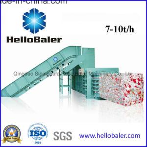Hellobaler Horizontal Waste Paper Baler Machine Hsa7-10 pictures & photos
