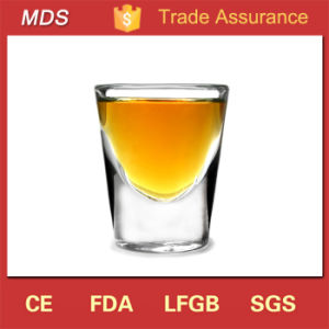 Machine Made Cheap Cool Shaped Shot Glass with Cold Alcohol pictures & photos