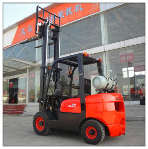2ton Gasoline LPG Forklift (CPQD20FR) pictures & photos