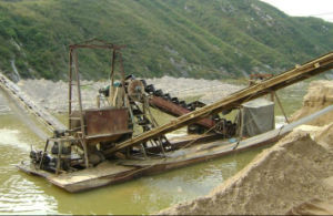 Stone Conveyor Belt Barge pictures & photos