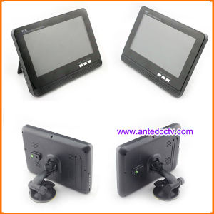 2 Wireless Car Rear View Cameras with Monitor 7 Inch LCD Screen for Car Reserving pictures & photos