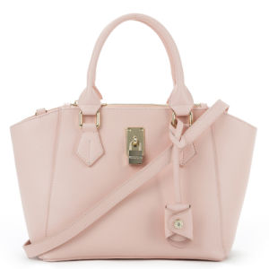 Hot Selling Genuine Leather Elegant Design Lady Tote Handbag (CG9116) pictures & photos