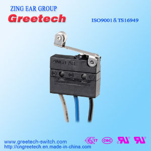Waterproof Mini Micro Switch with UL cUL CQC ENEC Approved pictures & photos