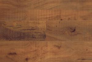 Horizontal Texture Woodgrain Embossed HDF Laminated Flooring AC3 E1 pictures & photos