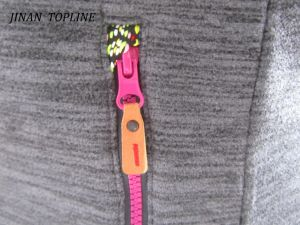 Women Sports Wear Polyester Micro Fleece Jacket pictures & photos