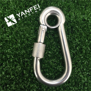 Stainless Steel Snap Hook with Eyelet and Nut pictures & photos
