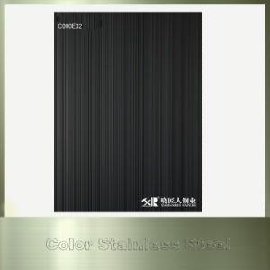 Price List Showing Black Color Stainless Steel Sheet pictures & photos