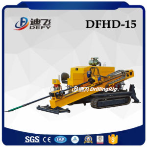 15ton Dfhd-15 Horizontal Directional Tunnel Boring Drilling Machine for Sale pictures & photos