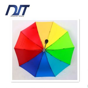 Hot Sale Outdoor Rainbow Umbrella Custom Printing