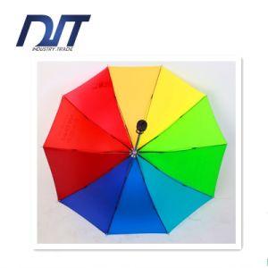 Hot Sale Outdoor Rainbow Umbrella Custom Printing pictures & photos