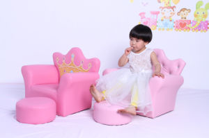 Modern Home Children Playroom Furniture with Footstool (SXBB-17-02) pictures & photos