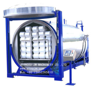 High Temperature and Pressure Vacuum Yarn Steamer pictures & photos