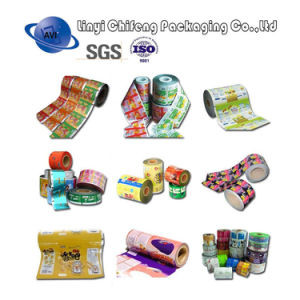Factory Price Colorful Printing Laminated Plastic Packaging Film/Sachet Packaging Film pictures & photos