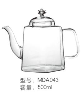 Glassware /Tea Pot with Handle / Tea Set / Glassware pictures & photos