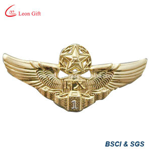 Top Selling Gold Badge Metal Lapel Pin pictures & photos