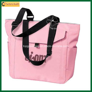 Promotional Waterproof Ladies Nylon Beach Tote Bag (TP-TB053) pictures & photos