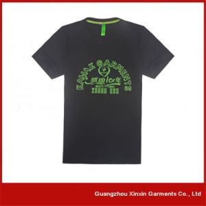 OEM Factory Silk Screen Printing Tee Shirts for Promotion with Your Own Logo (R46) pictures & photos