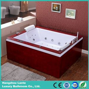 Comfortable Swimming Massage Bath Tub (TLP-666-Wood Skirt) pictures & photos