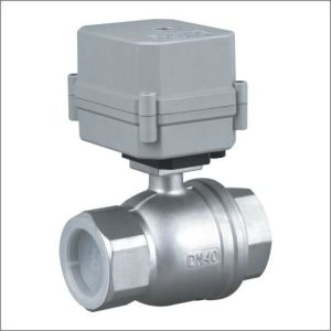1.5 Inches Stainless Steel304 Electric Actuator Control Ball Valve pictures & photos