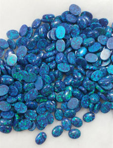 Blue Created Opal Gemstones pictures & photos