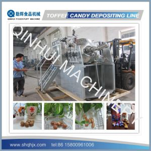 Full Automatic Depositing Type Toffee Candy Depositing Line pictures & photos