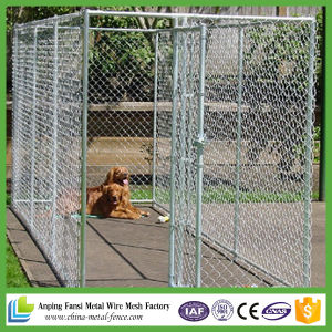 10 Ft X10 Ft X 6 Ft Chain-Link Dog Kennel pictures & photos