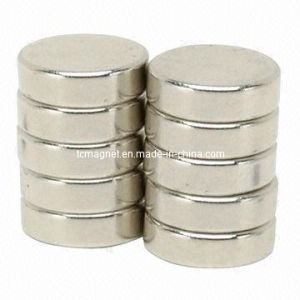 Disc Rare Earth NdFeB Magnets with Ni Plating pictures & photos