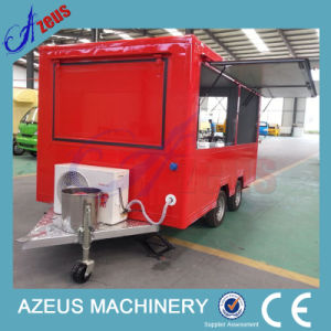 China The Best Selling Fast Food Mobile Kitchen Trailer China