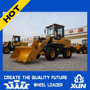 Competitive Mini Wheel Loader, 1.2 Ton Mini Loader Zl12 a with Lowest Price pictures & photos