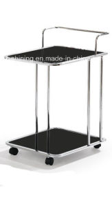 Two Layers Stainless Steel Trolley (FD-321) pictures & photos