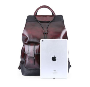 2017 Daily Use Large Capacity Vintage Leather Laptop Backpack with Tote pictures & photos