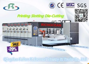 Automatic Corrugated Printing Slotting Die Cutting Machine pictures & photos