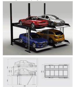 Vertical Rotary Automated Car Parking System pictures & photos