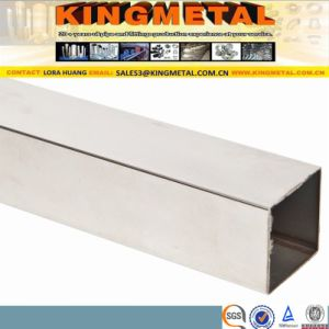 ASTM A554 304/Tp316L/347H/201 Polished Welded Stainless Steel Square Pipe (KM-56) pictures & photos